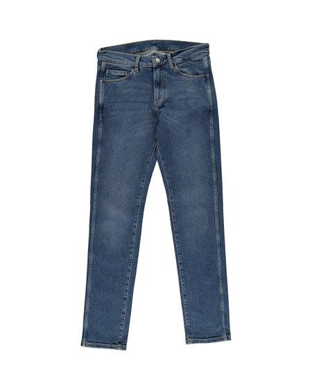 Unisex Dr. Denim Snap Jeans - Arctic Blue