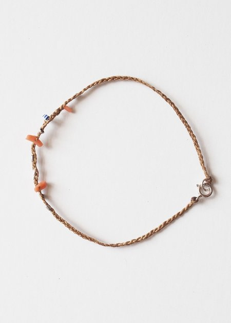 See Real Flowers Coral Morning Bracelet