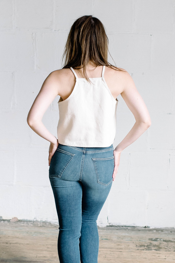 Hackwith Design House Mo Tank - Cream