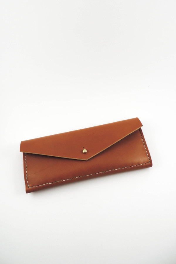 Farrell & Co. Tan Slim Wallet