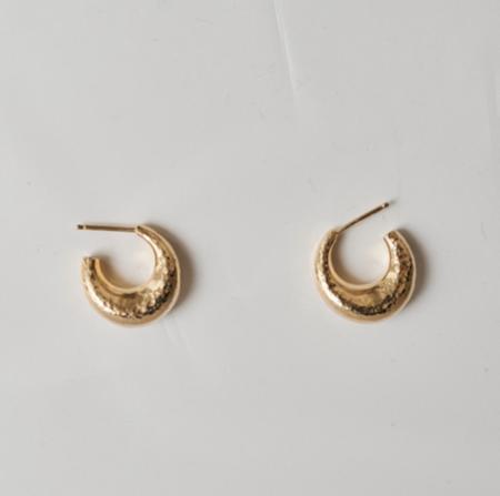 Beaufille Yorba Hoop Earrings - Gold
