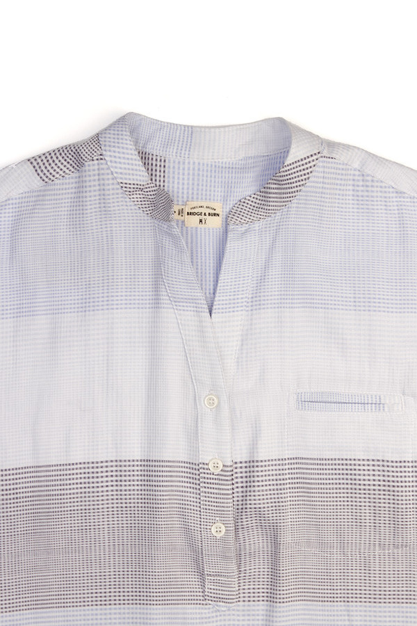 Bridge & Burn Newell White Plaid