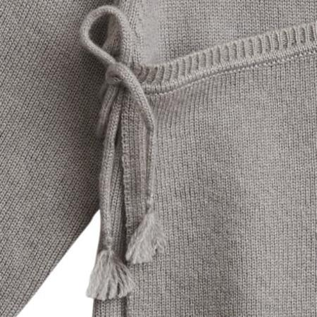KIDS belle enfant cashmere wrap top