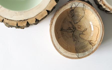 Loyal Loot Log Bowl Size 6 - Clear/Natural