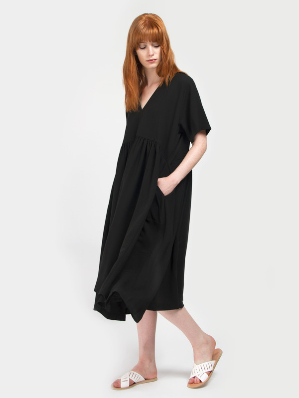 Henrik Vibskov Black Very Dress