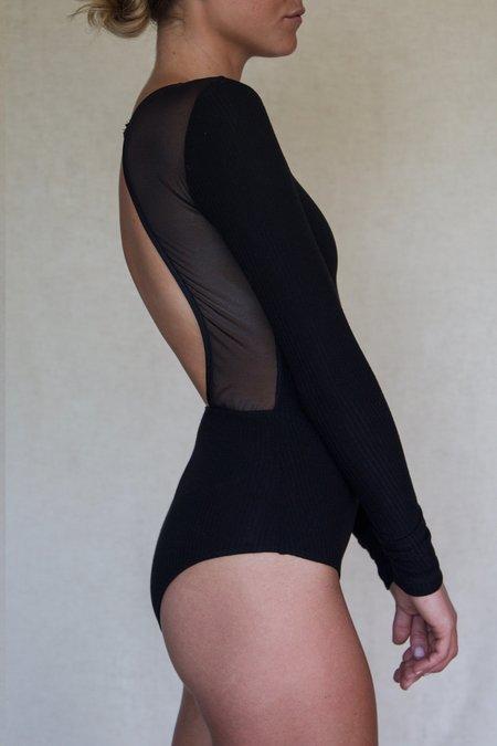 Angie Bauer Mulberry Bodysuit - Black