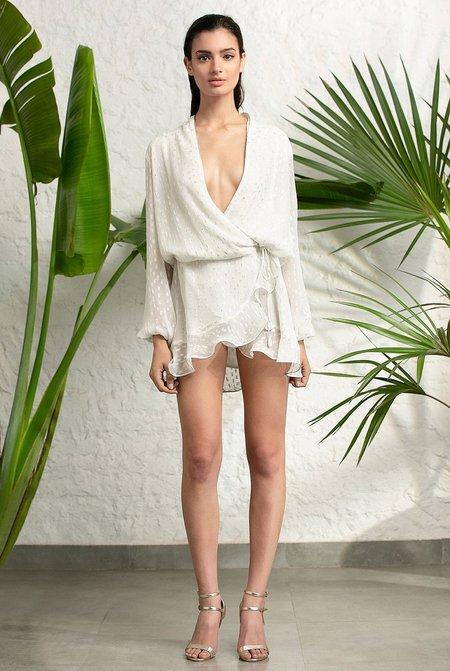 Rococo Sand Elna Dress - White