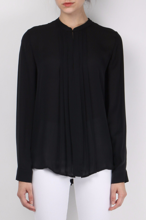 L'agence Pleated Front Top