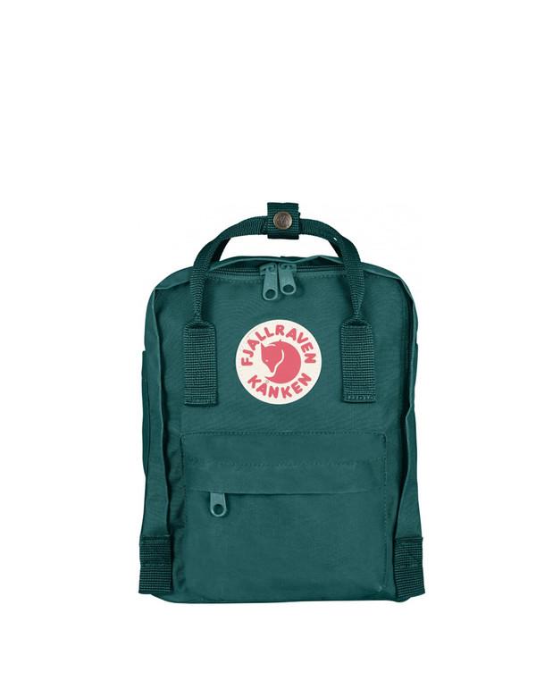 Fjallraven Kanken Mini Backpack Ocean Green