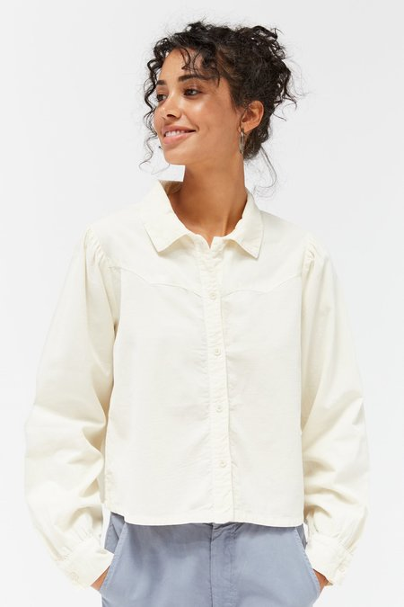 Lacausa Adi Blouse - Panna Cotta