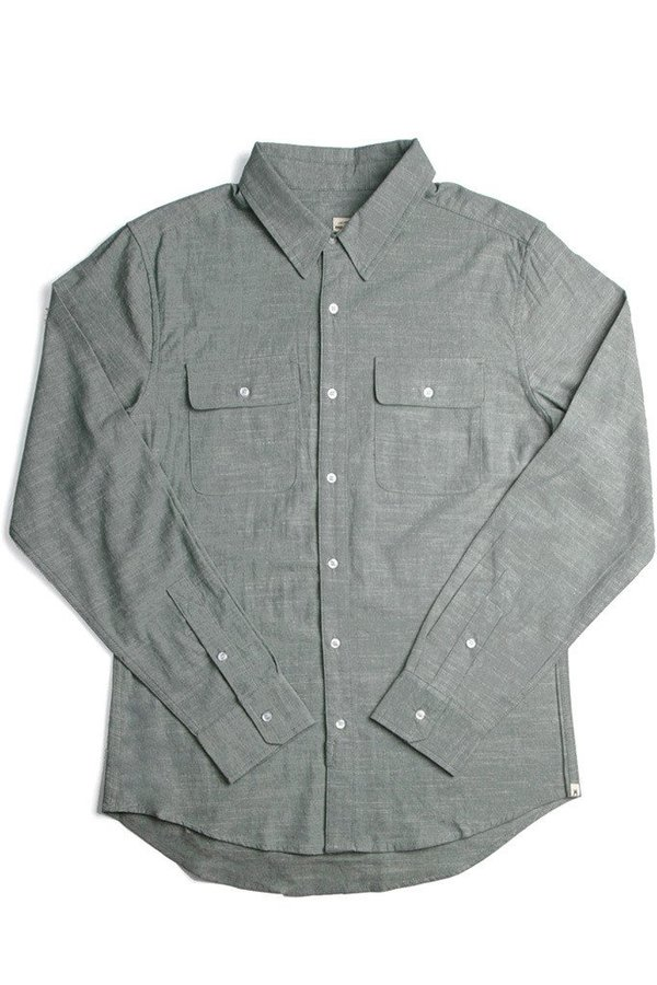 Bridge & Burn Franklin Shirt - Green
