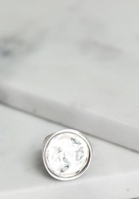 Simona Tagliaferri Small Circle Ring - Silver