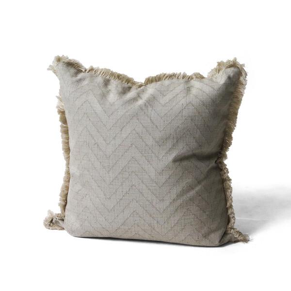 Erica Tanov fringed throw pillow
