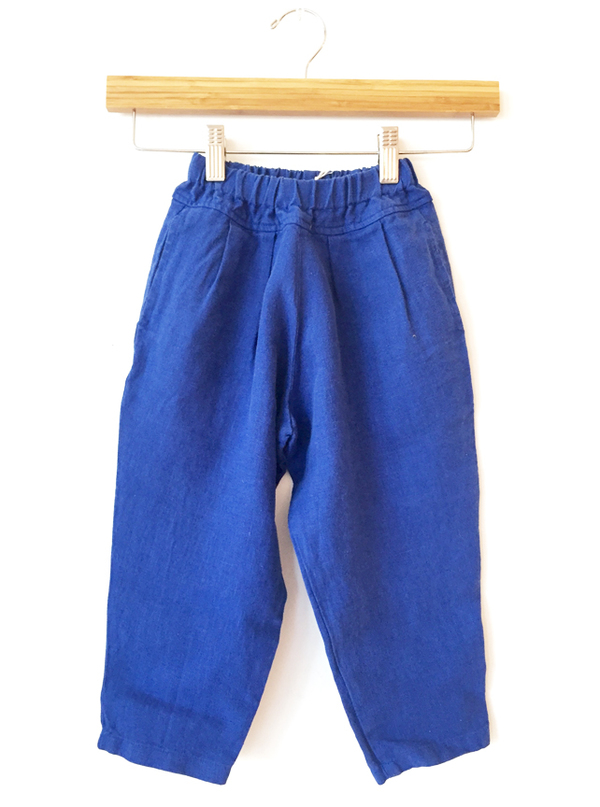 Black Crane Kids Carpenter Pants - Blue