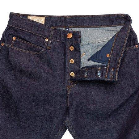 Freenote Cloth Portola Jean - Indigo Rinsed
