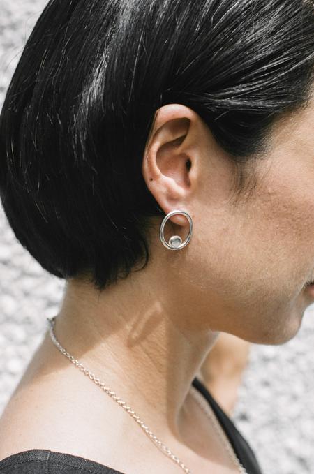 Catherine Hartley Olive Earrings