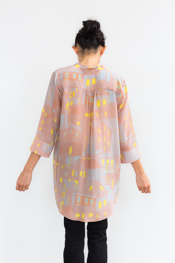 LANGUAGE OF THE BIRDS Nehru Tunic