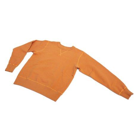 Buzz Rickson's Loopwheel Crewneck - Orange