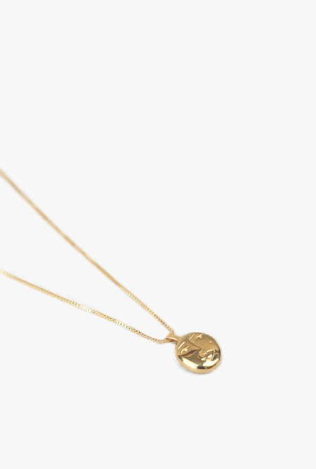 Wolf Circus Evelyn Pendant Necklace - 14k gold plated