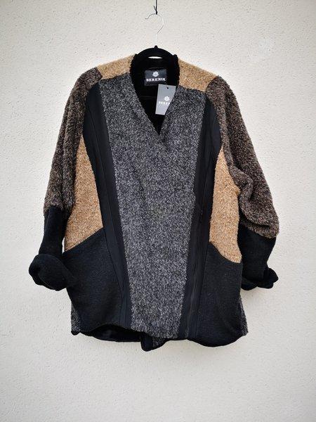 Berenik Patchwork Zip Coat