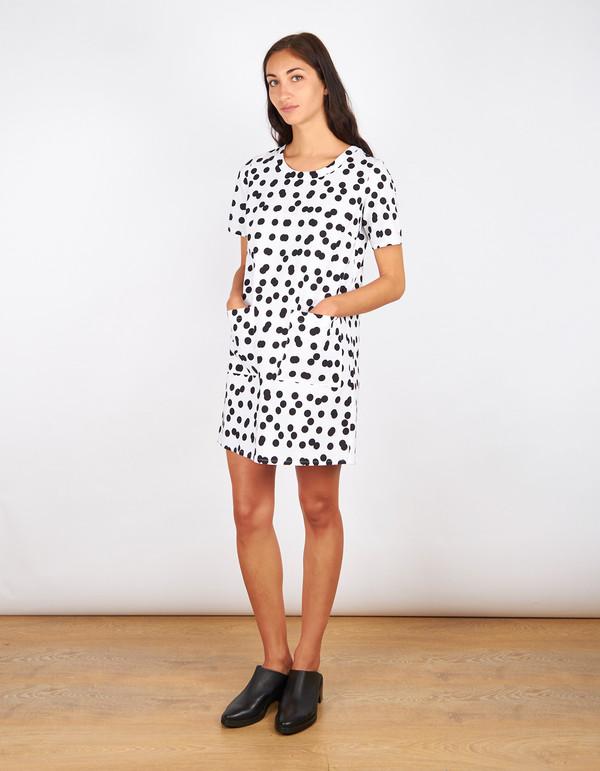 Dusen Dusen Tee Dress Double Dot