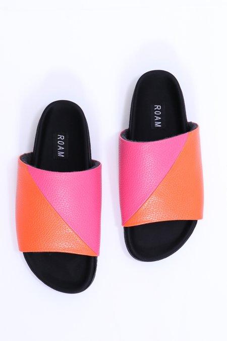 Roam Neon Slider - Pink/Neon Orange