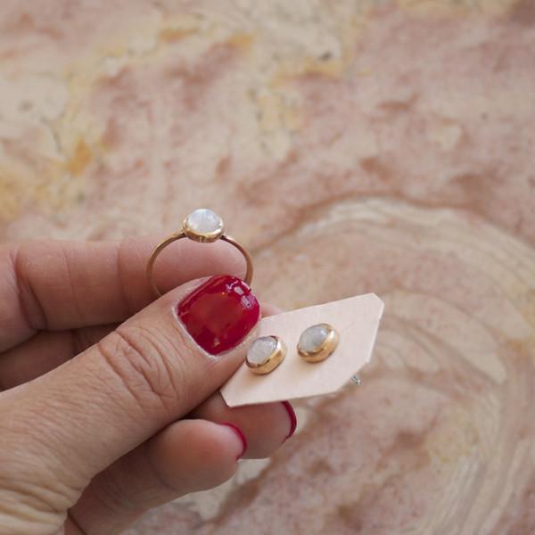 J Southern Studio moonstone jewelry
