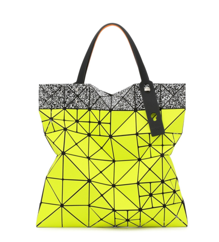 Bao Bao Issey Miyake Limited Pixel Tote - Yellow/White