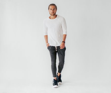 Crow Collective Journey Pants - Charcoal