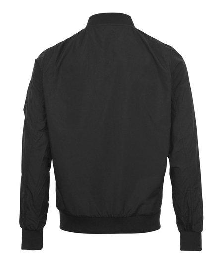 Busyboi Full Zip Lightweight Bomber Jacket - Black