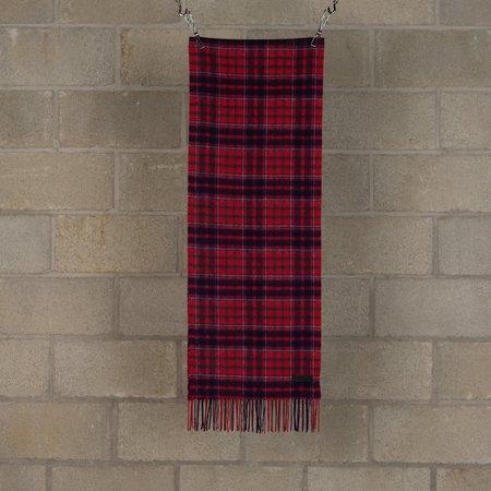 PEEL & LIFT Wool Scarf - Red