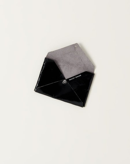Tracey Tanner Andie Pouch - Black Foil