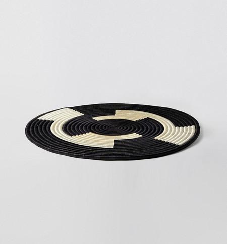 "Indego Africa Geometric Flat Platter 22"""