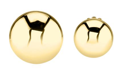 Gabriela Artigas Asymmetric Full Aura Earring - 14k gold
