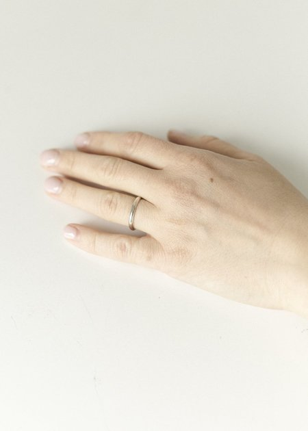 Melodie Borosevich Jewelry Single Ring- - sterling silver