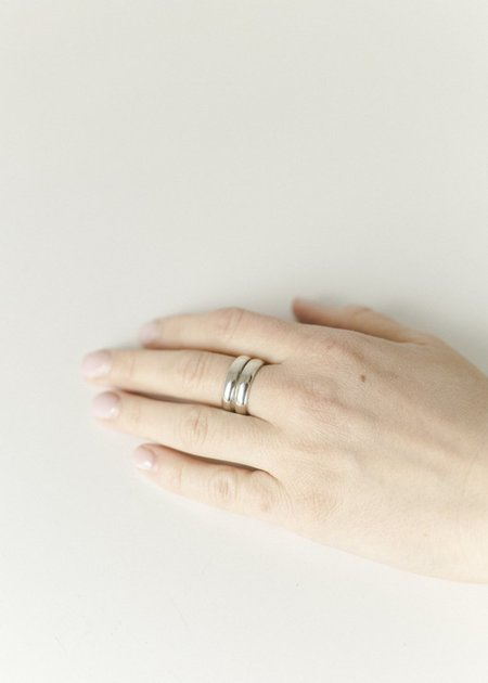 Melodie Borosevich Jewelry Stacked Ring - sterling silver