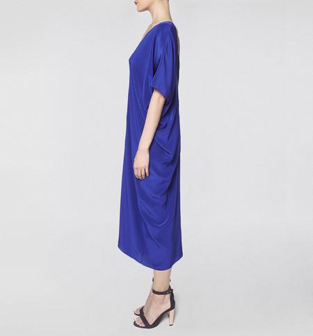 VOZ Two Panel Blue Dress
