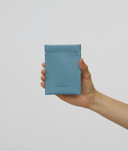 Building Block Slim Card Case - Slate Blue