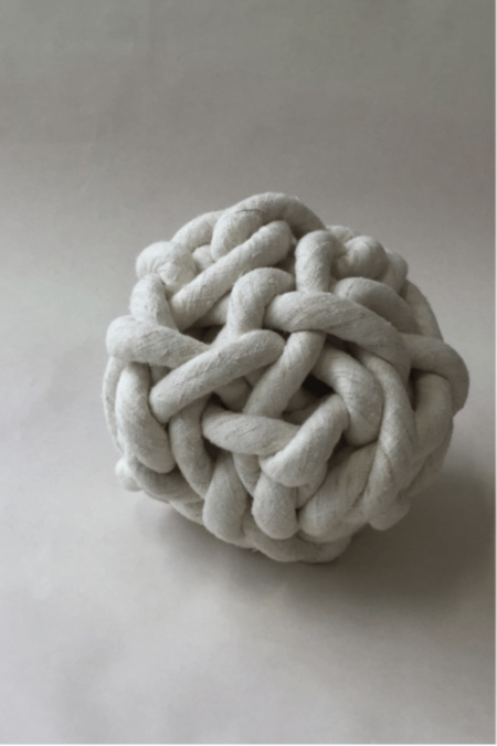 Bartleby Objects Silk Knot Pillow