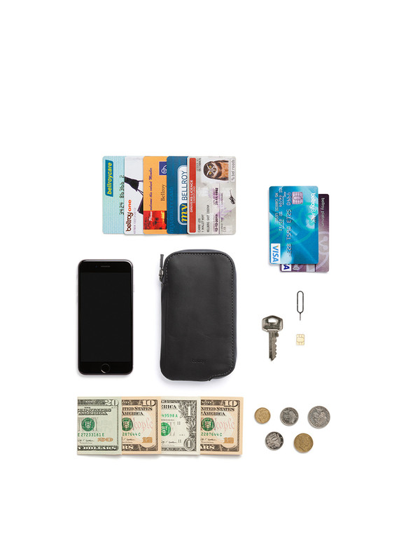Bellroy Elements Phone Pocket i6 Black