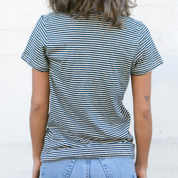 Jungmaven - YARN DYED SHORT SLEEVE TEE - size large only!