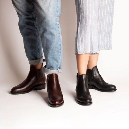 The CANO Shoe CARLOS Charro Boot - Coffee