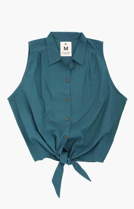 New Market Goods Bashundhara Tie Front Shirt