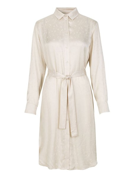 Samsoe & Samsoe Cissa Shirt Dress - Warm White