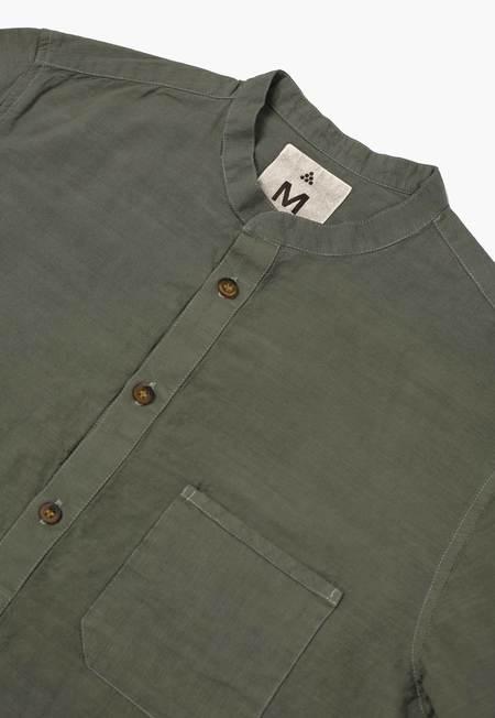 New Market Goods Buckthorn Popover Shirt - Green