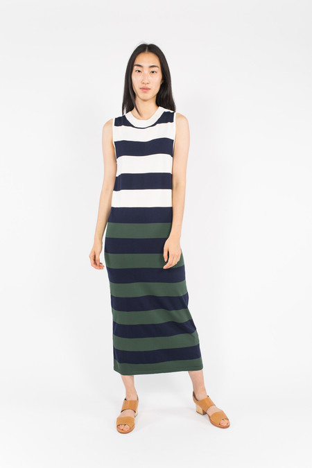 Le Mont St. Michel Stripe Dress