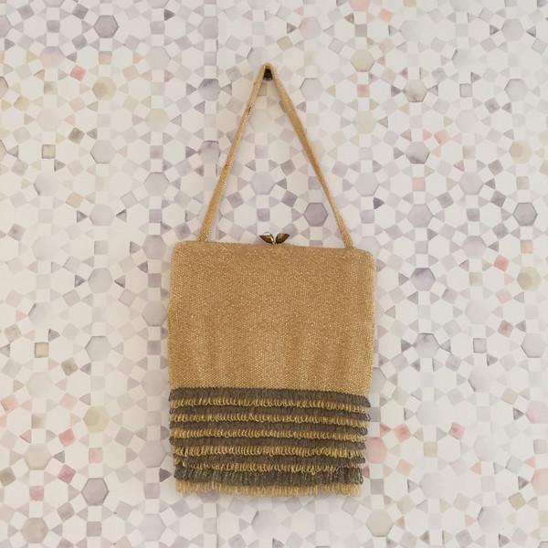 Maggie Savage BWT Gold Vintage Bag