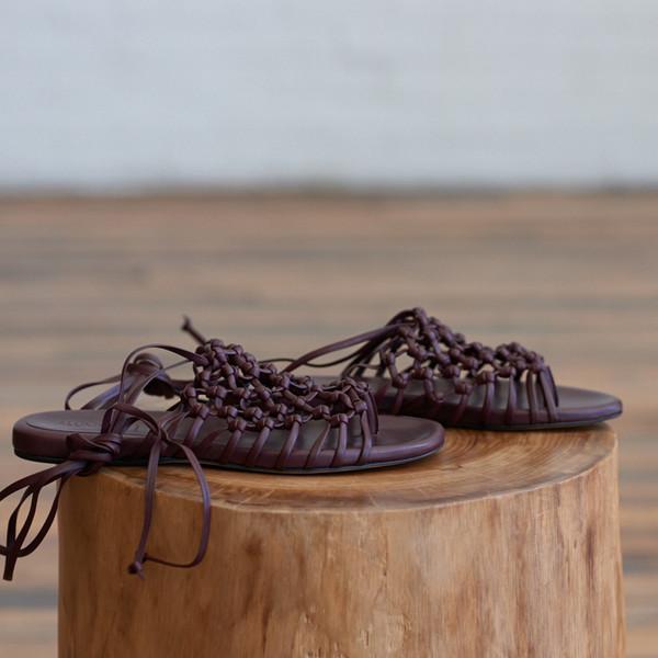 Alumnae Knotted Sandal