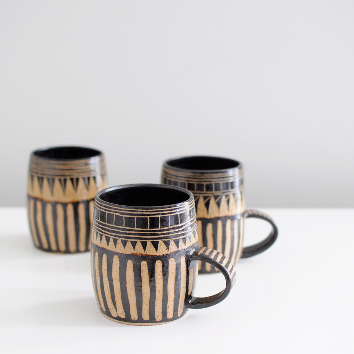 little bear pots mug black garmentory. Black Bedroom Furniture Sets. Home Design Ideas