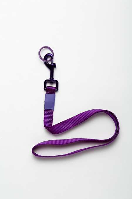 The Celect Industrial Pop Lanyard - Purple